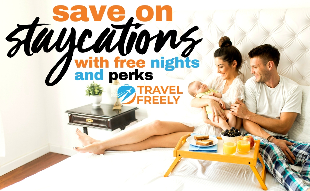 Save on Staycations with Free Nights and Perks