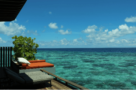 Points and Miles made the Maldives our Honeymoon Destination