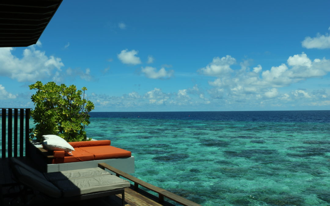 A First Class Honeymoon In The Maldives