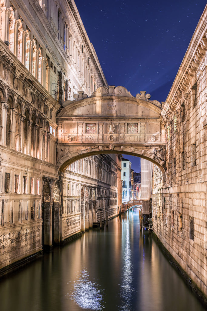 The romance of Venice is not to be missed