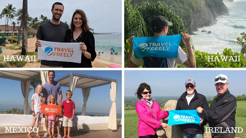 Success Stories from Travel Freely Members