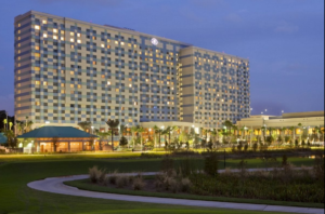 The Hilton Bonnet Creek is part of Disney and comes with some extra perks