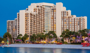 The Hyatt Regency near Disney is a great way to travel to Disney with Points