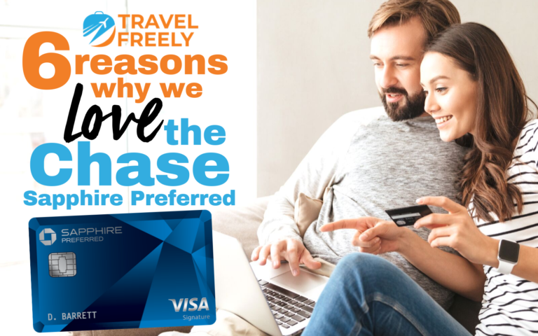 6 Reasons why we love the Chase Sapphire Preferred