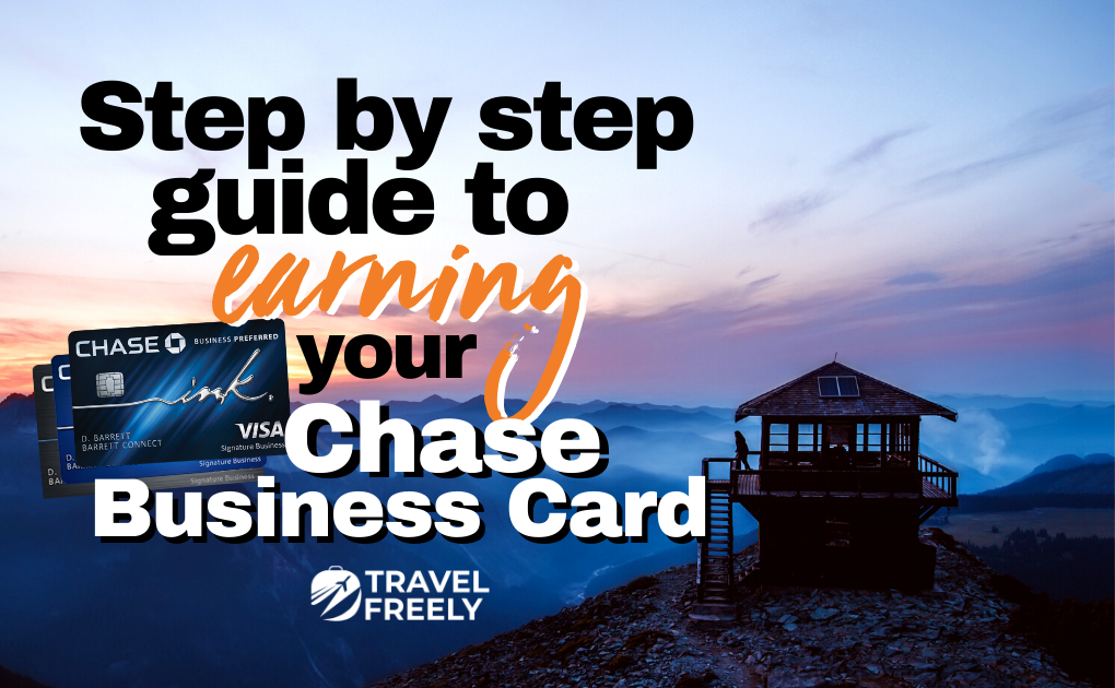 Earning your Chase Business Card