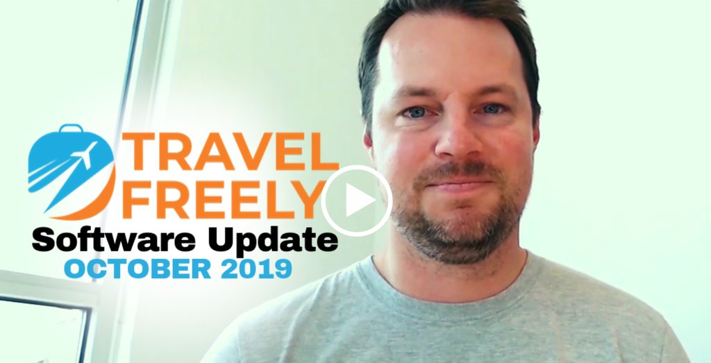 Travel Freely Software Update (Oct 2019)