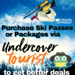 Purchase Ski Passes or Package via Undercover tourist to get better deals and to code them as travel expenses