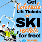Get Colorado lift tickets or ski rentals for free!