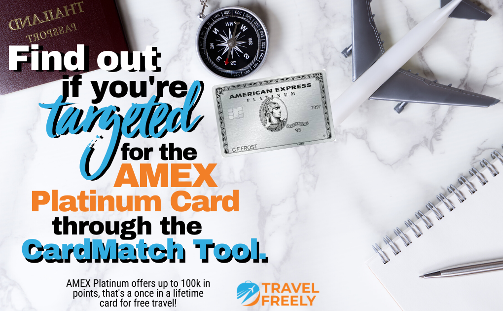 Amex Platinum Card through CardMatch Tool