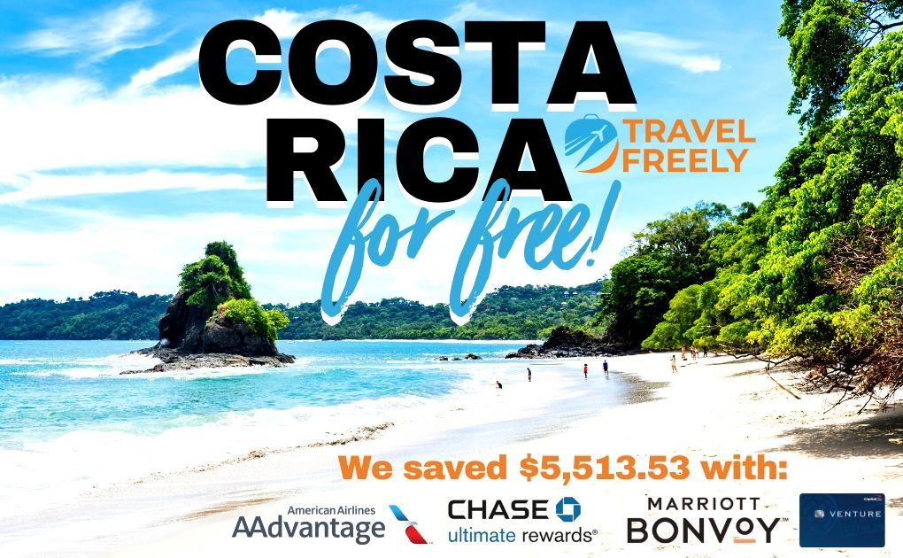 How We Did Costa Rica For Free Travel Freely