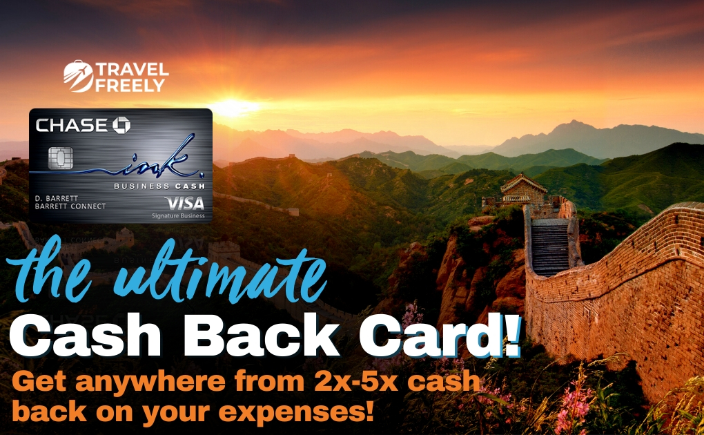 The Chase Ink Business Cash is the Ultimate Cash Back card