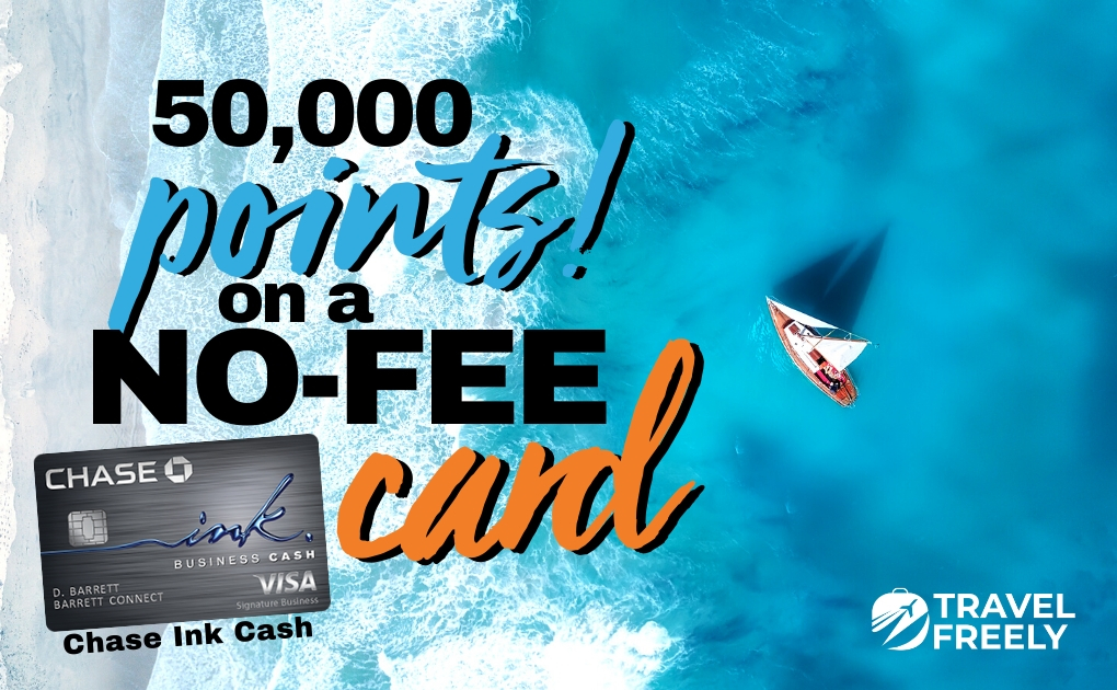 50,000 Points Chase Ink Cash