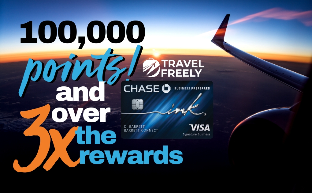 100,000 points Chase Ink Business Preferred