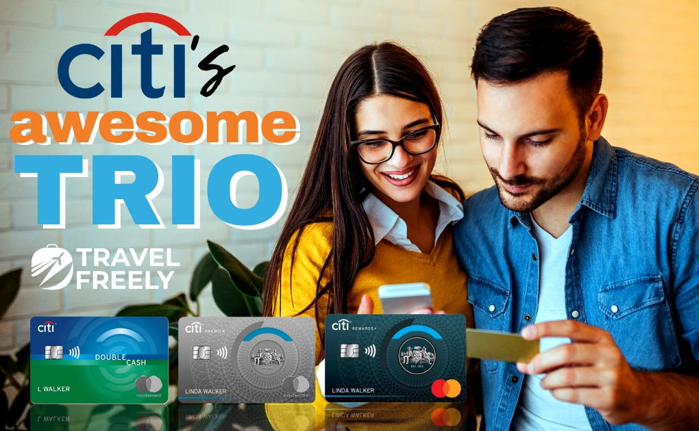 Beyond Chase: Citi Killer Combo of Double Cash, Premier, Rewards+