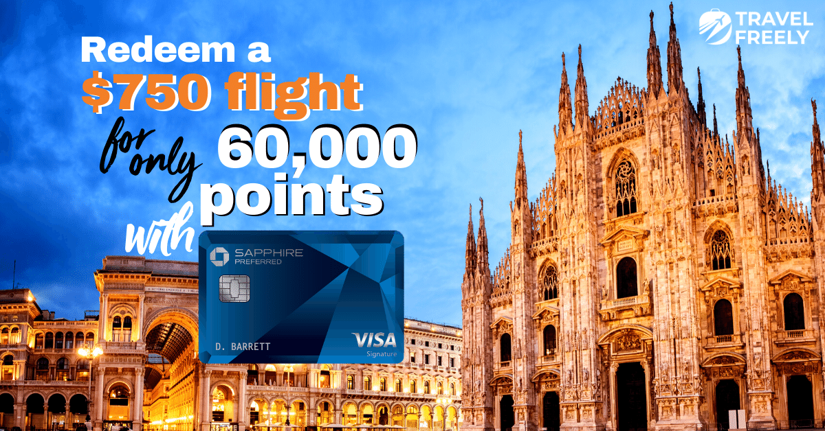 Free flights with Chase Sapphire Preferred