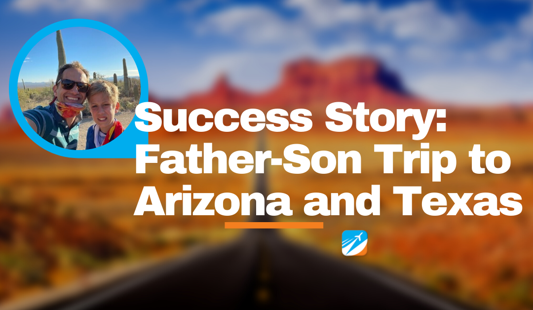 Member Success Story: A Sports-Filled Father & Son Trip